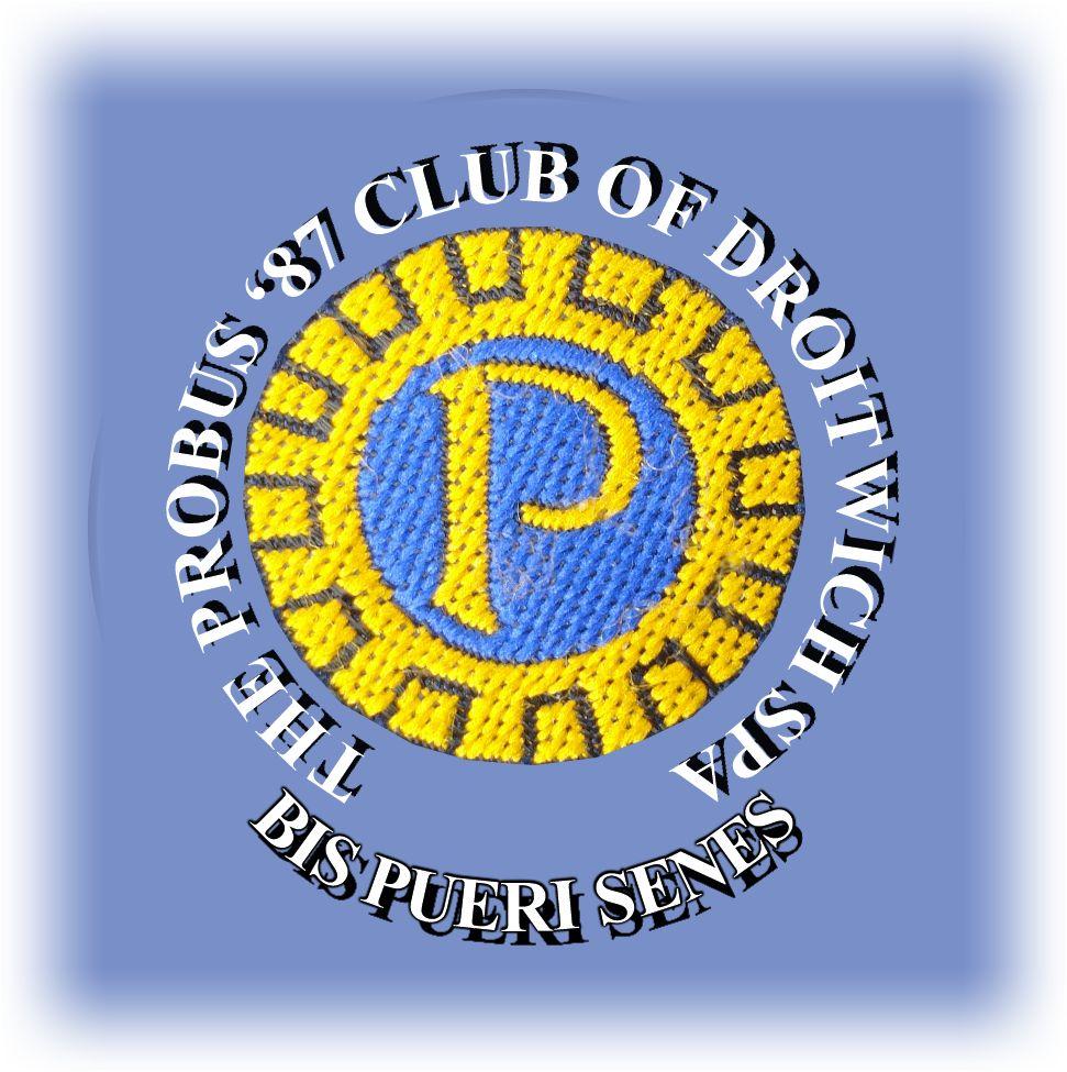 Probus Droitwich Spa 87 Logo